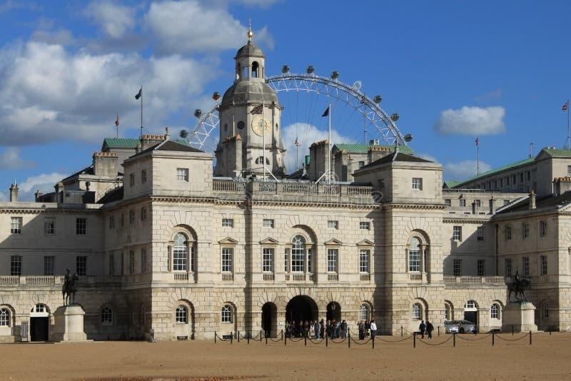 Gospodarstwo domowe kawalerii muzeum w Londyn fotografia stock