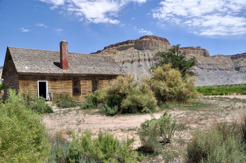 gospodarstwo rolne zaniechany dom zdjęcie royalty free