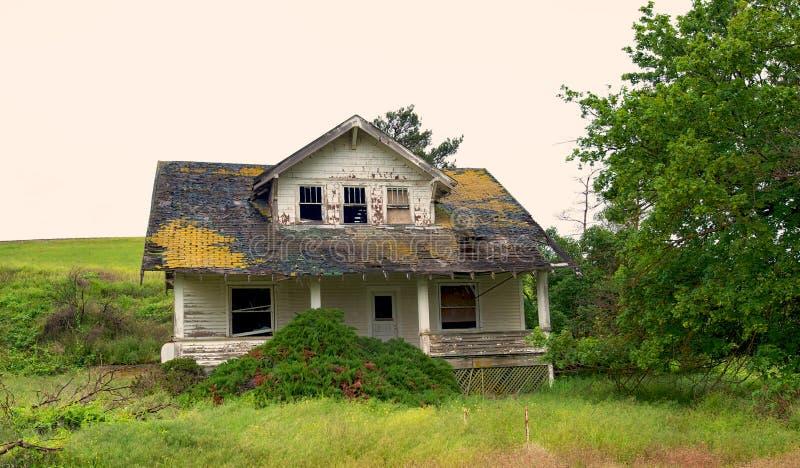 gospodarstwo rolne zaniechany dom zdjęcie stock