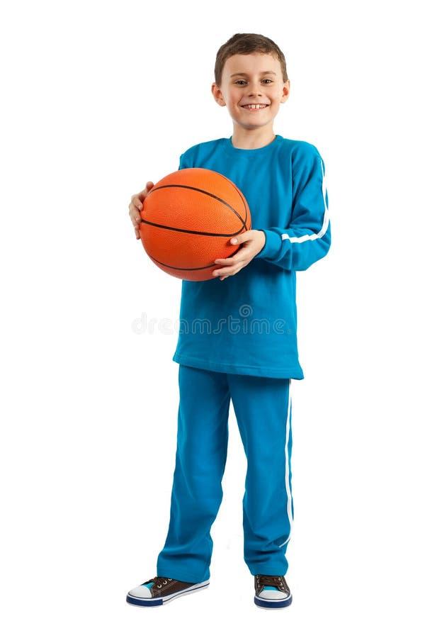 Gosse de basket-ball images stock
