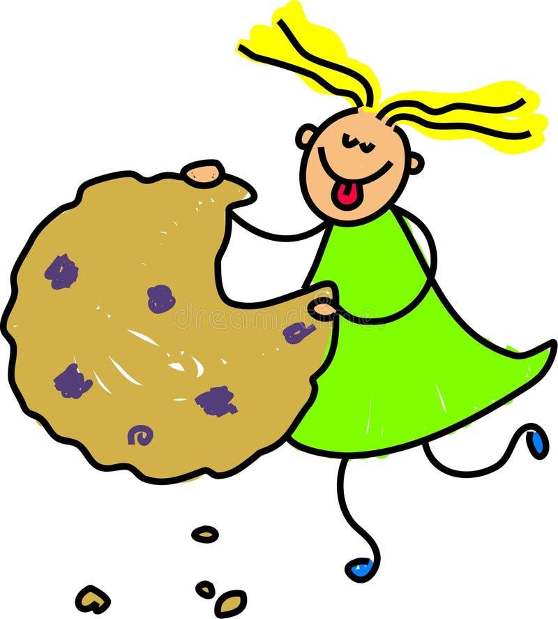 Gosse De Biscuit Photos stock