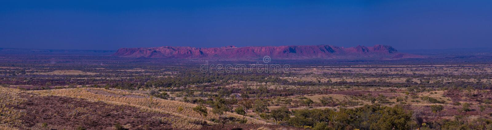 Gosses Bluff. () is thought to be the eroded remnant of an impact crater. It is located in the southern Northern Territory, near the centre of Australia, about royalty free stock images