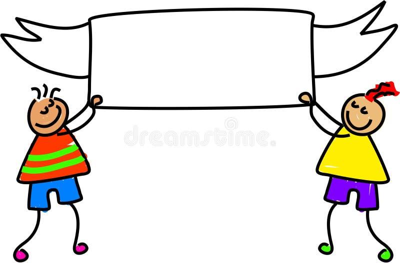 Download Gosses de drapeau illustration stock. Illustration du drapeau - 731525