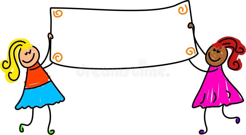 Download Gosses de drapeau illustration stock. Illustration du gosses - 731539