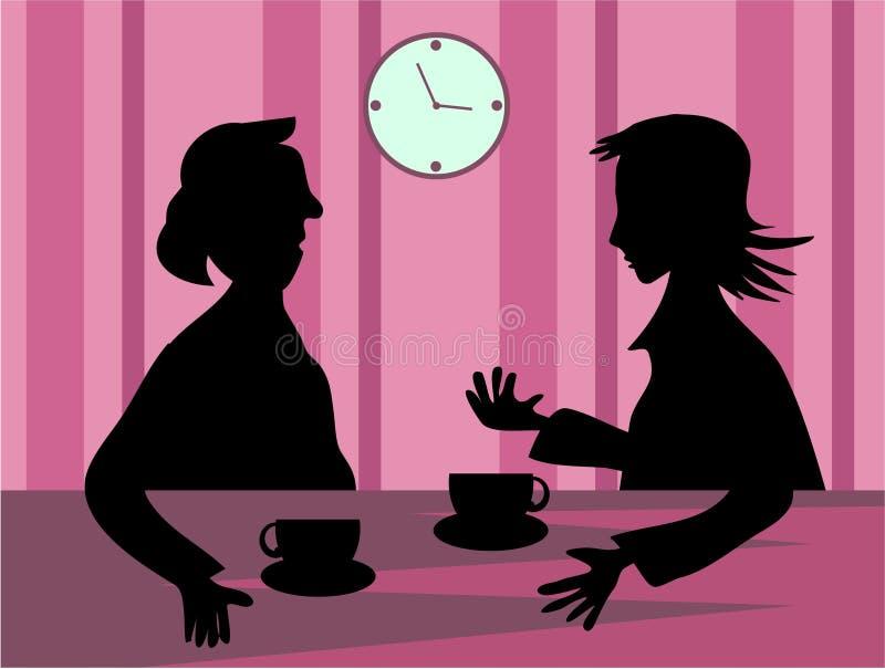 Gossip stock illustration