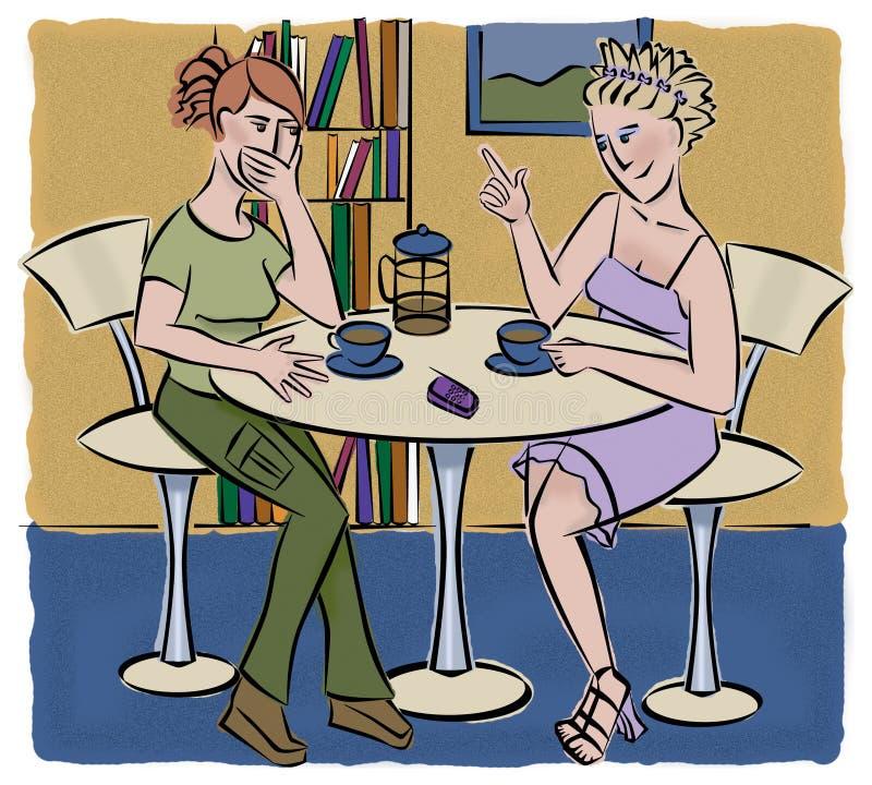 Download Gossip stock illustration. Illustration of shopping, surprise - 136453