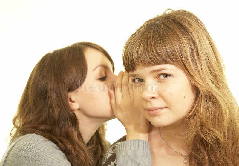 Gossip stock photography