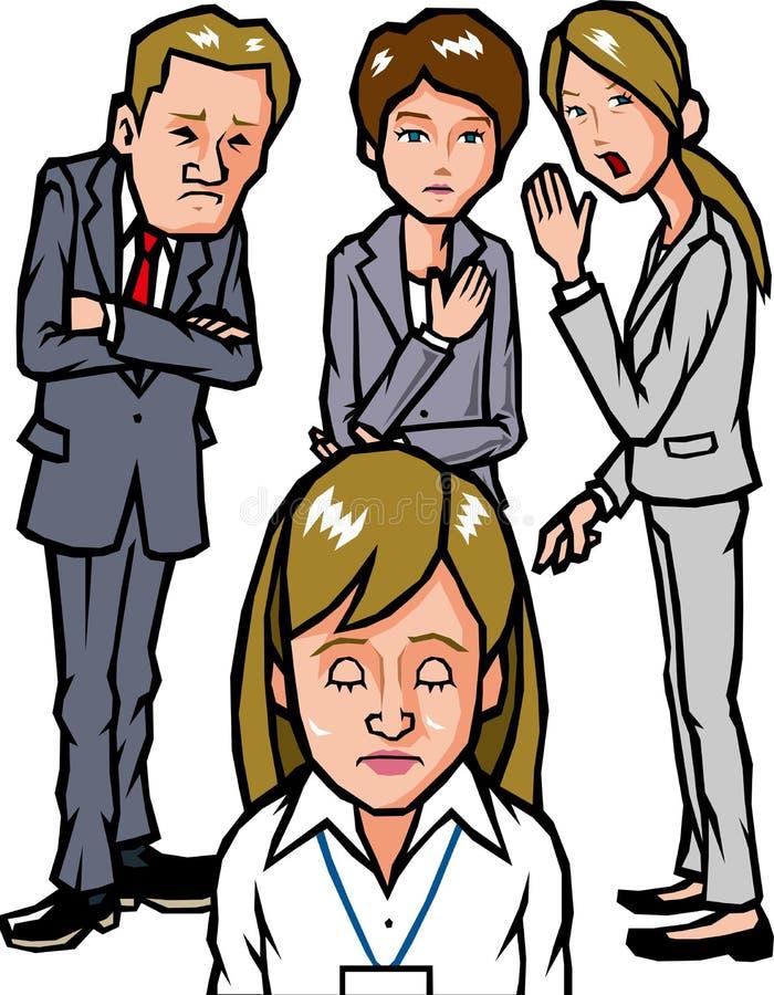 Gossip illustrazione di stock
