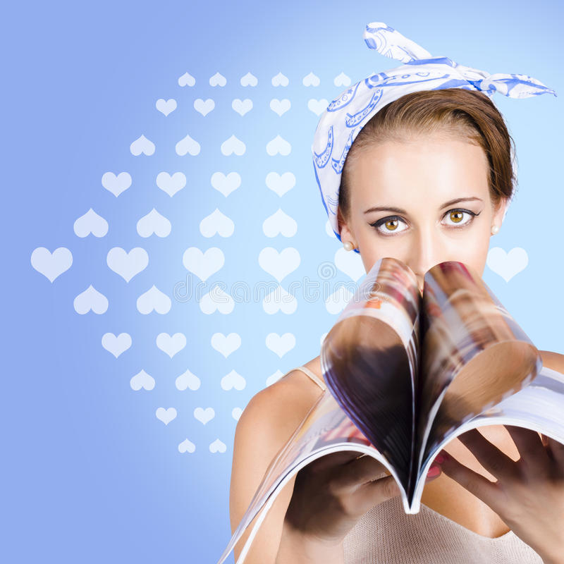 Download Gossip Lady Reading The Latest Womens Magazine Royalty Free Stock Photo - Image: 31333645