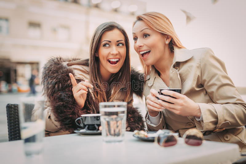 Gossip Party royalty free stock image