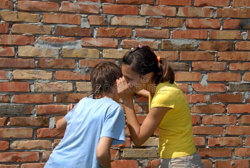 gossiping стоковое изображение