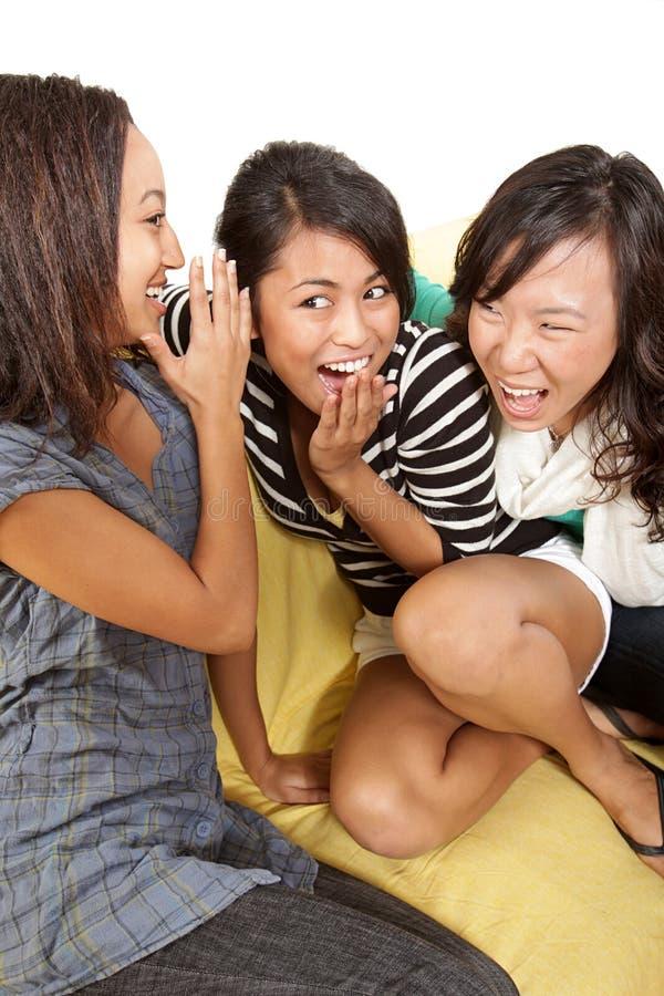 gossiping стоковая фотография