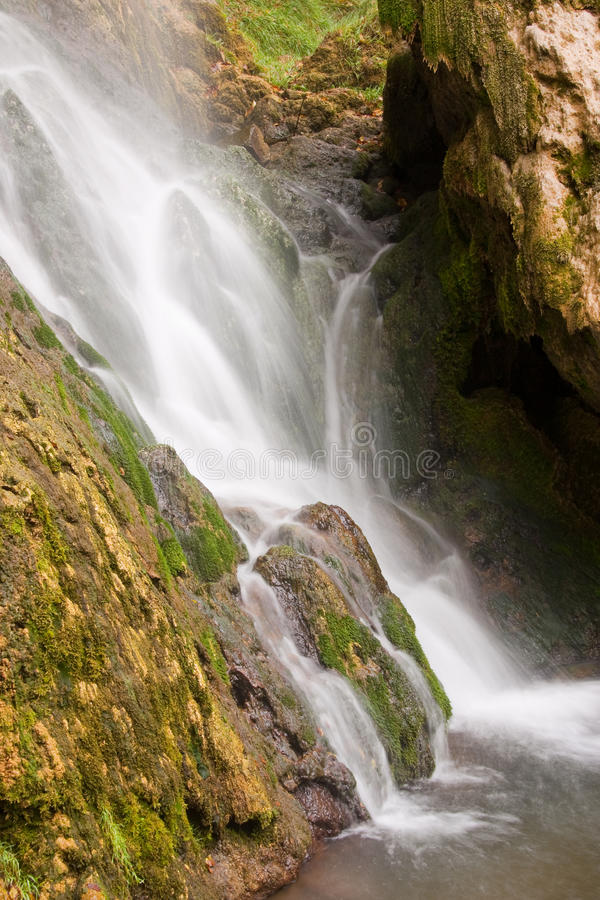Gostilje Waterfall stock images