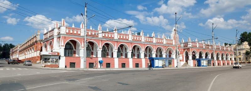 Gostiny Dvor i Kaluga royaltyfri bild