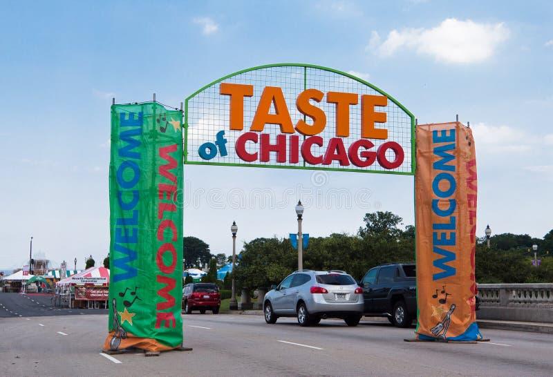 Gosto do partido de Chicago imagem de stock royalty free