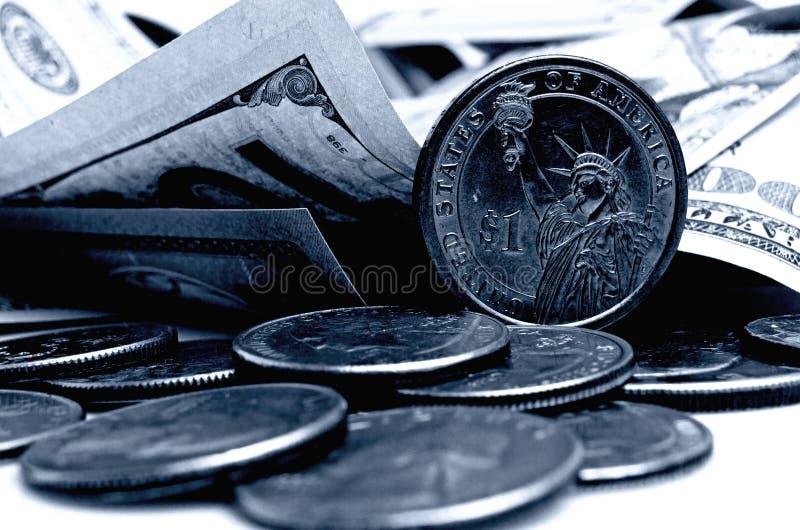Gotówkowi USA dolary fotografia stock