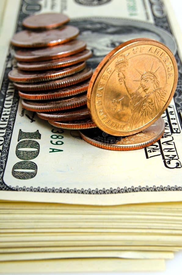 Gotówkowi USA dolary - pojęcie obrazy stock