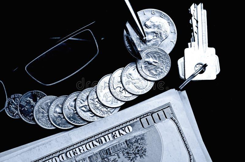 Gotówkowi USA dolary - pojęcie fotografia stock