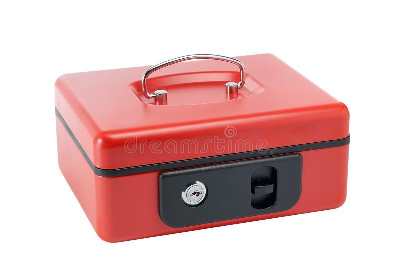 Gotówkowy pudełko zdjęcia royalty free