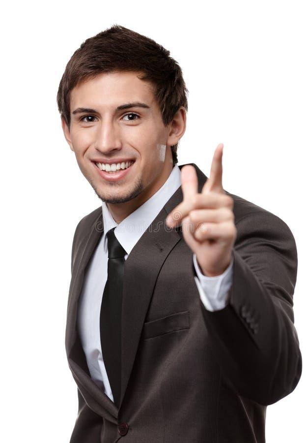 Download Got an idea stock image. Image of caucasian, gesture - 28980427