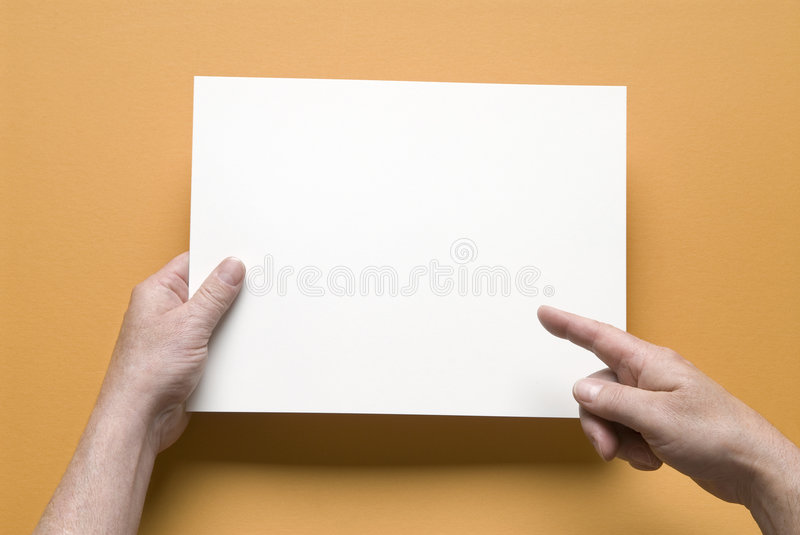 Got a message, put it here royalty free stock images