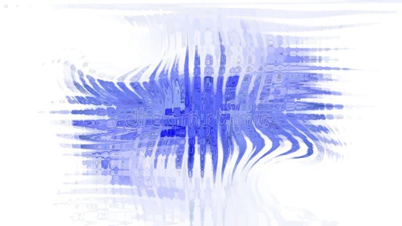 Gota azul no fundo branco ilustração royalty free