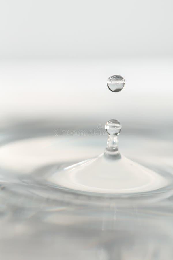Gota da água macia fotos de stock