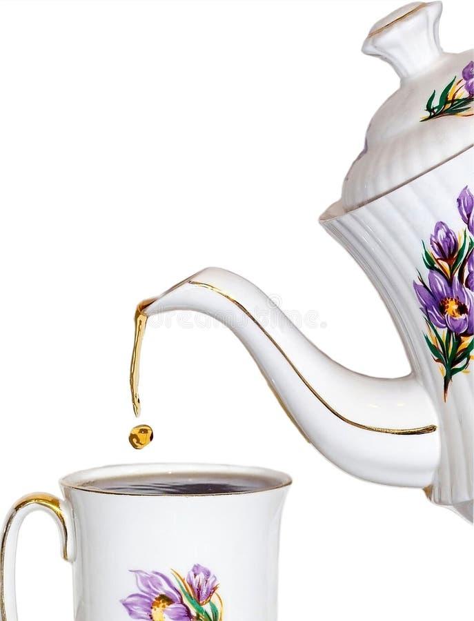 Gota do chá imagens de stock royalty free