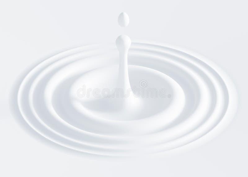 Gota do leite ilustração do vetor