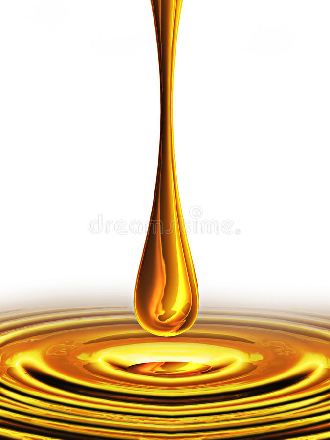 Gota do petróleo ilustração do vetor