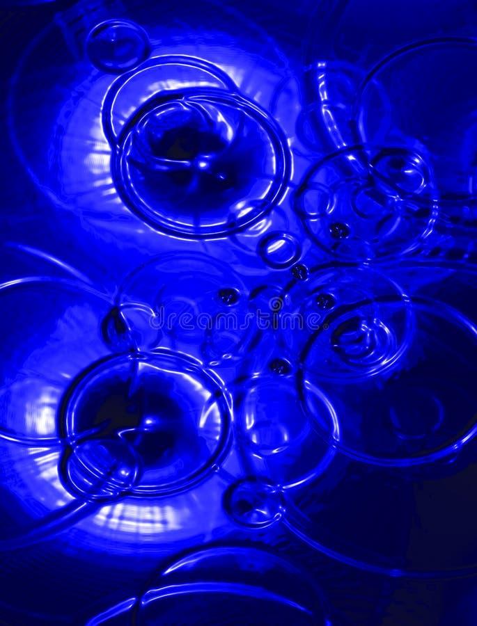 Gotas azuis imagem de stock royalty free