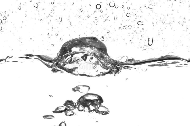 Gotas da água fotografia de stock