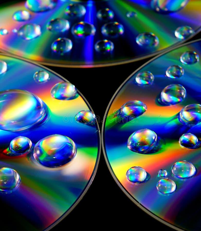 Download Gotas da água imagem de stock. Imagem de ótico, superfície - 26518887