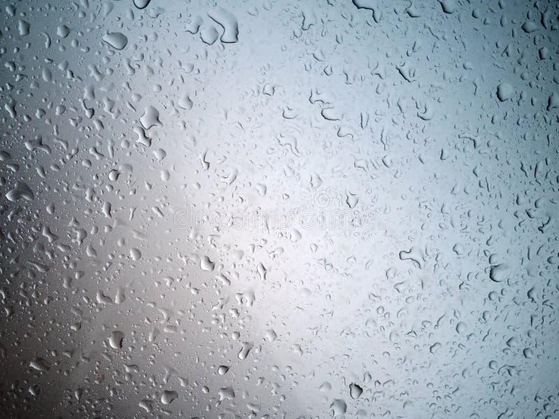 Gotas da água, carro luxuoso fotografia de stock