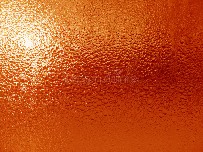 Gotas da água na superfície de vidro fotografia de stock