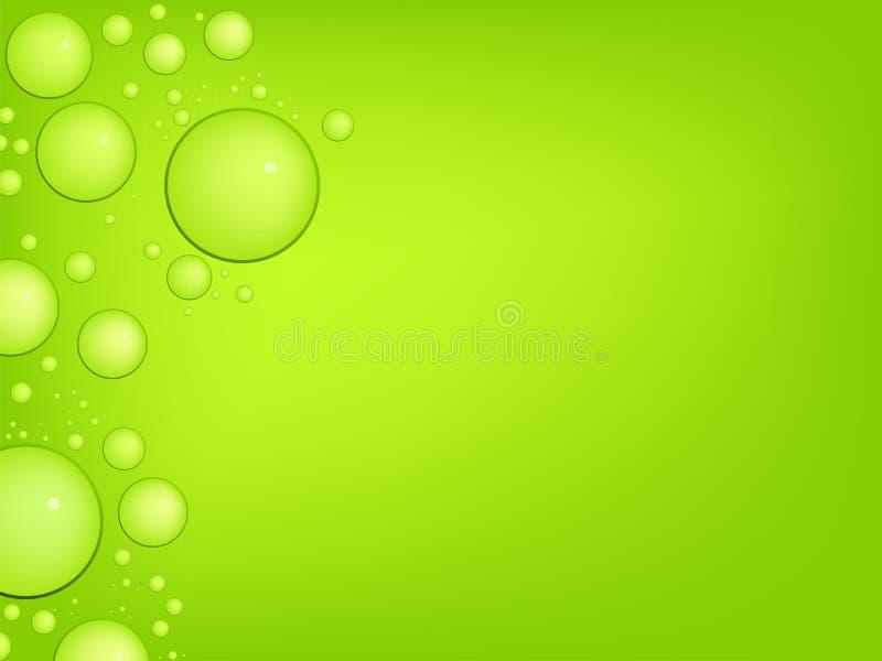 Gotas de água do vetor ilustração stock