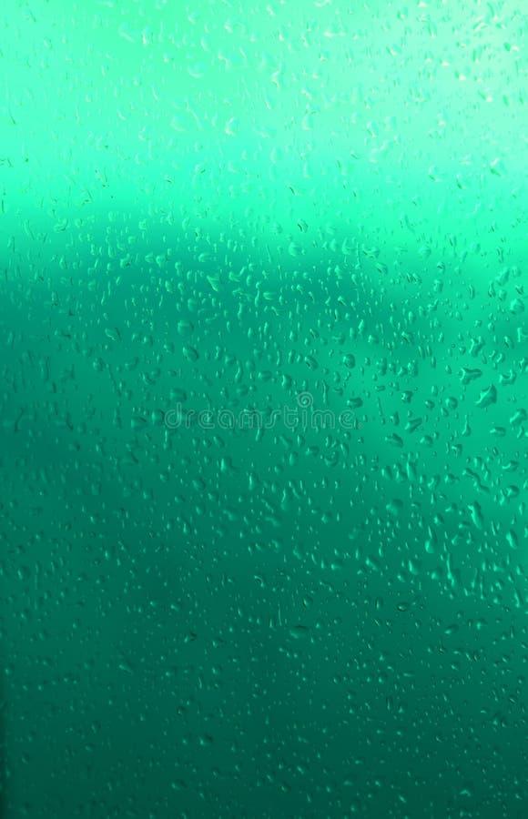 Gotas de Aquamarine fotografia de stock royalty free