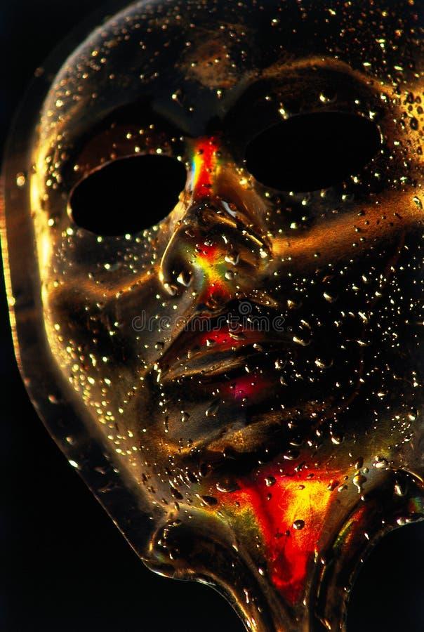 Gotas de la máscara imagenes de archivo