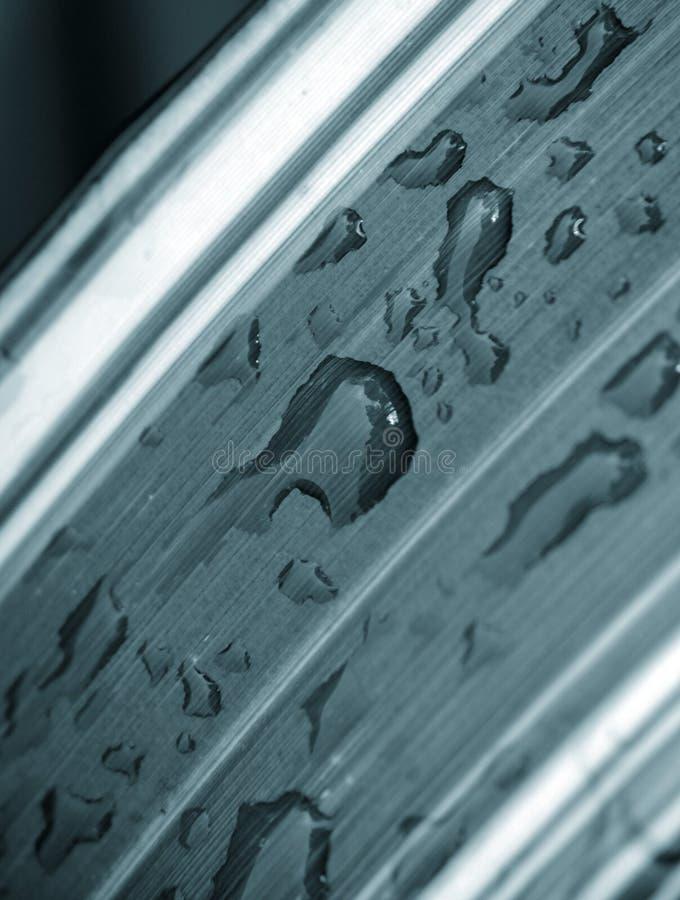 Download Gotas del agua en la hoja stock de ilustración. Ilustración de claro - 7282784