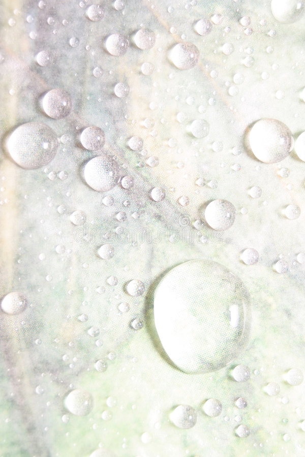 Gotas ligeras foto de archivo libre de regalías