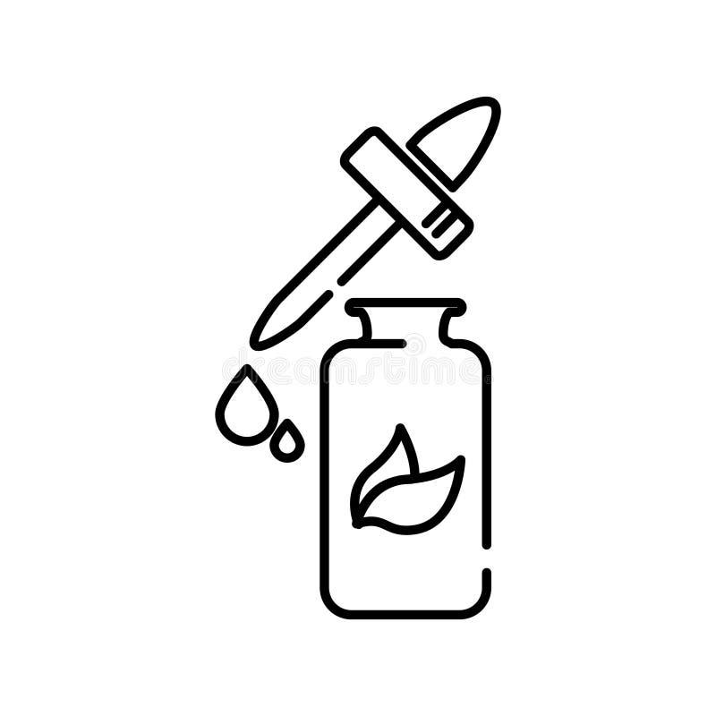Gotas médicas ícone, ilustração do vetor ilustração do vetor
