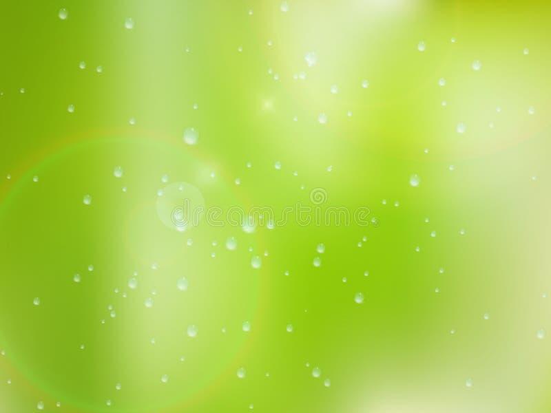 Download Gotas Naturales Del Agua Sobre El Vidrio EPS10 Más Foto de archivo - Imagen de condensado, limpio: 42436994