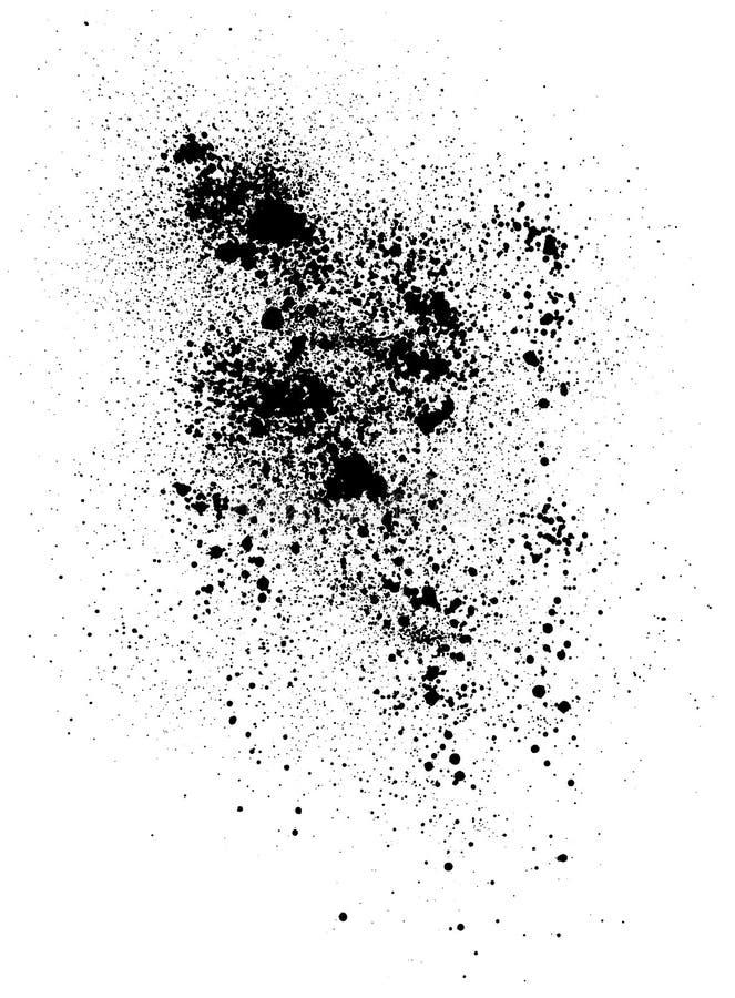 Gotas negras libre illustration