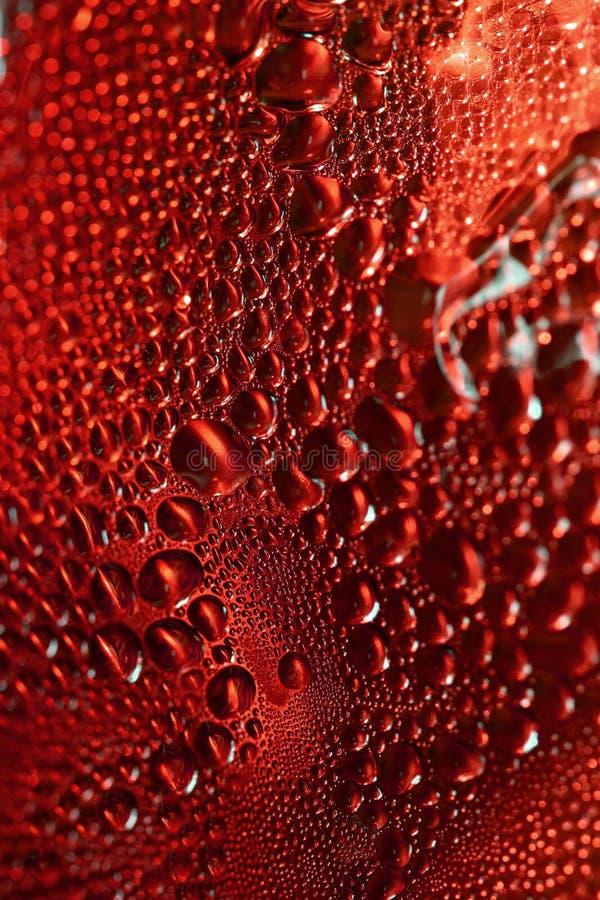 Gotas rojas fotos de archivo