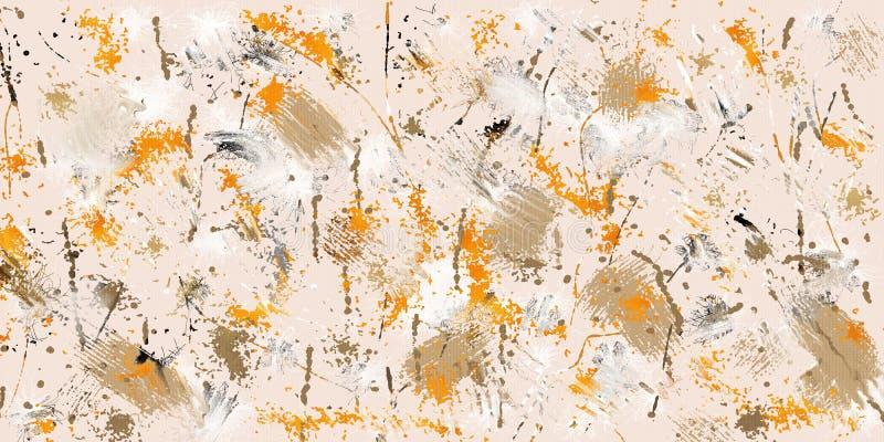 Goteo abstracto stock de ilustración
