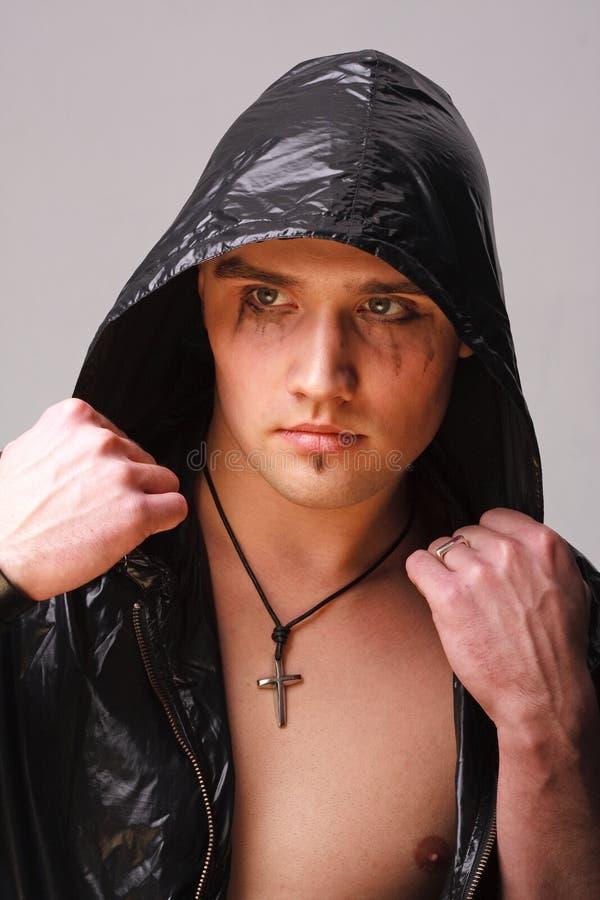 goth πορτρέτο ατόμων στοκ φωτογραφίες