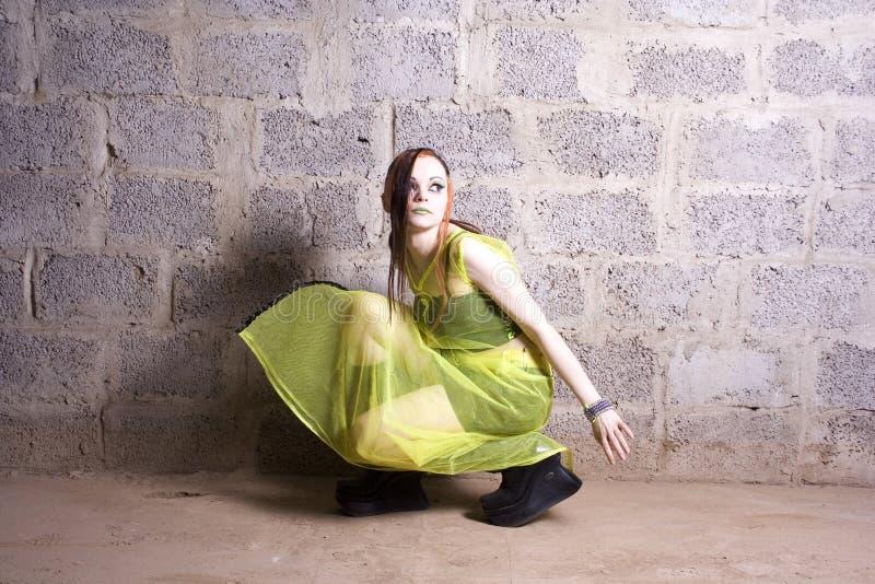 goth девушки стоковая фотография rf