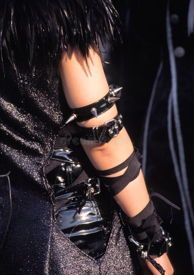 Goth photo stock