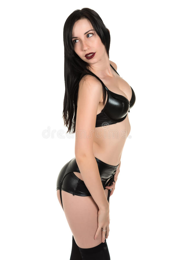 Download Goth girl stock photo. Image of undergarments, hosiery - 39509424