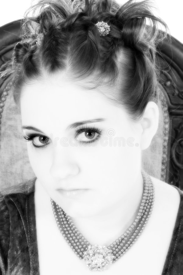 Goth Princess royalty free stock images